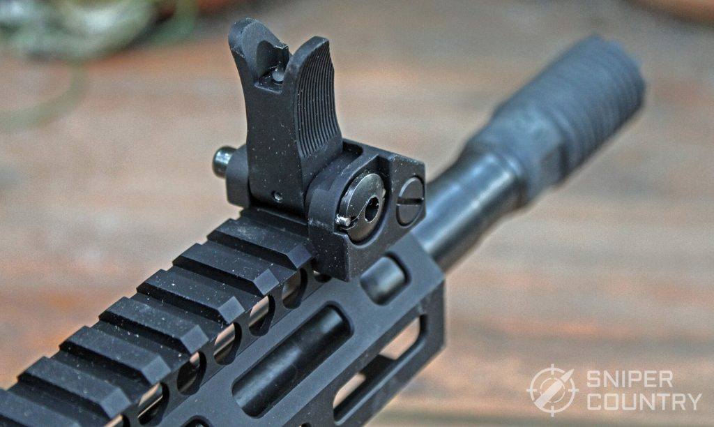 Troy Industries A4 9mm Carbine front sight