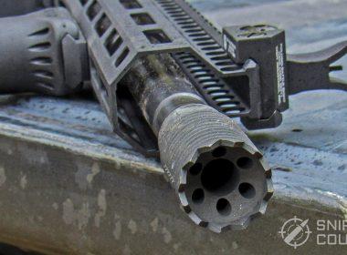 Troy Defense M5 9mm Carbine muzzle