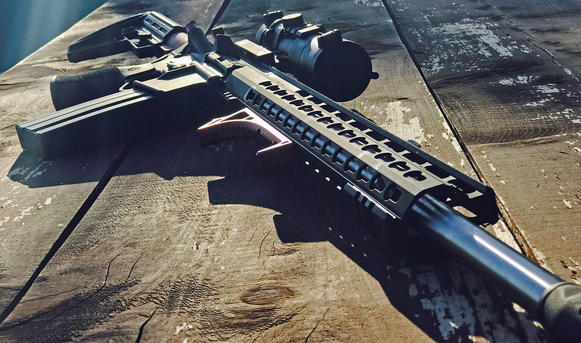 6.5 Grendel AR and magazine