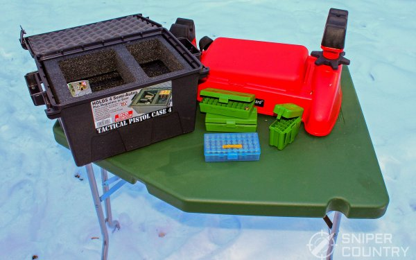 MTM Case-Gard: Ammo Boxes, Rest & Table [Review]