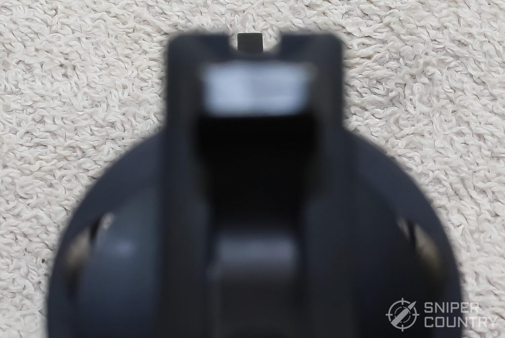 Taurus 85 Ultralite sight picture