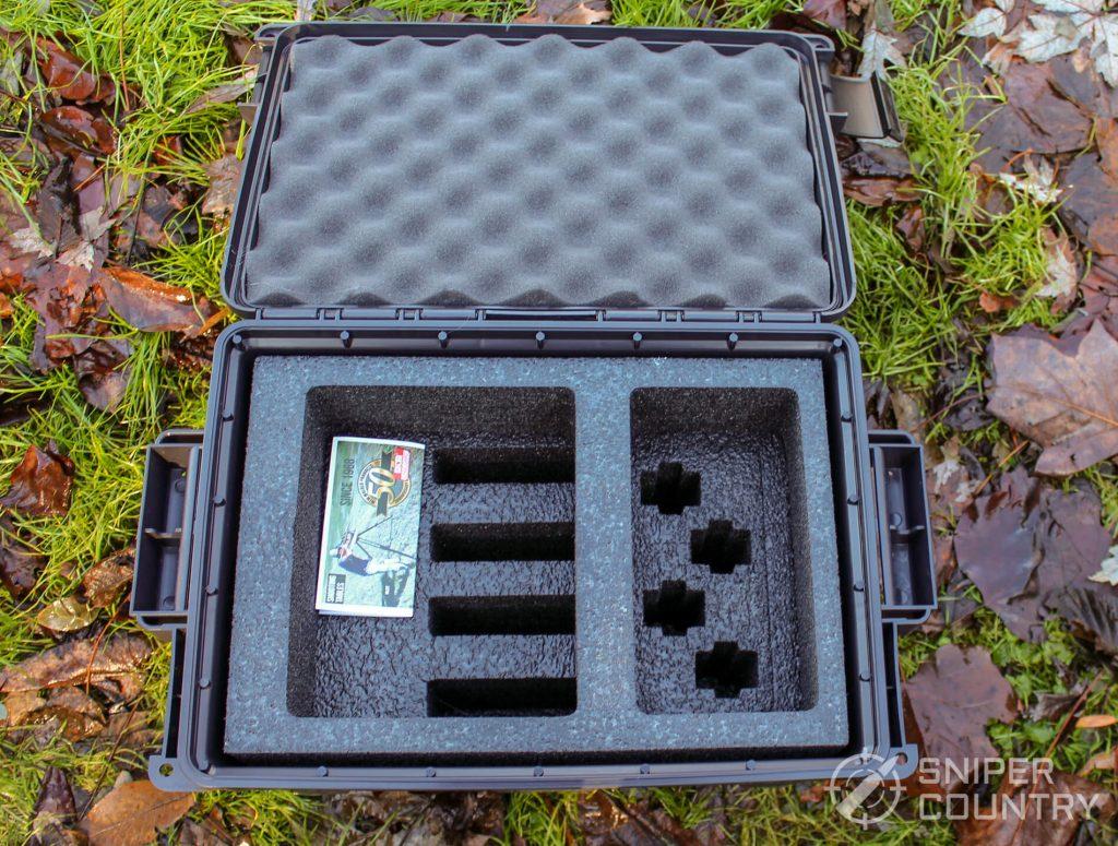 pistol ammo case