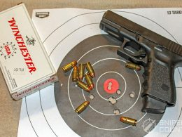 Glock 32 and target