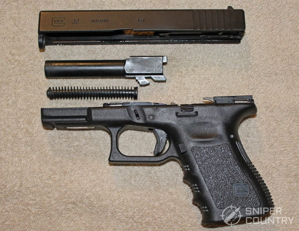 Glock 32 field stripped