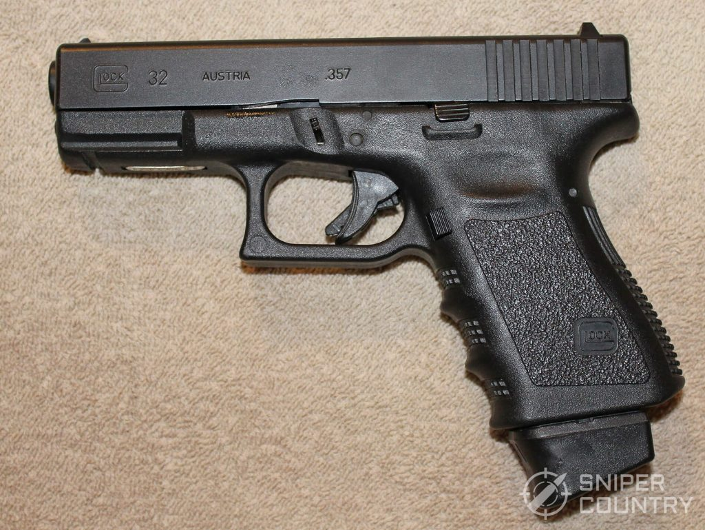 Glock 32 left side