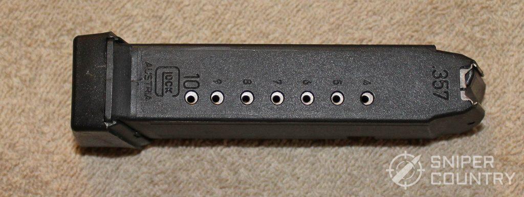 Glock 32 mag back