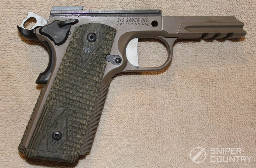 Sig Sauer Scorpion 1911 frame right