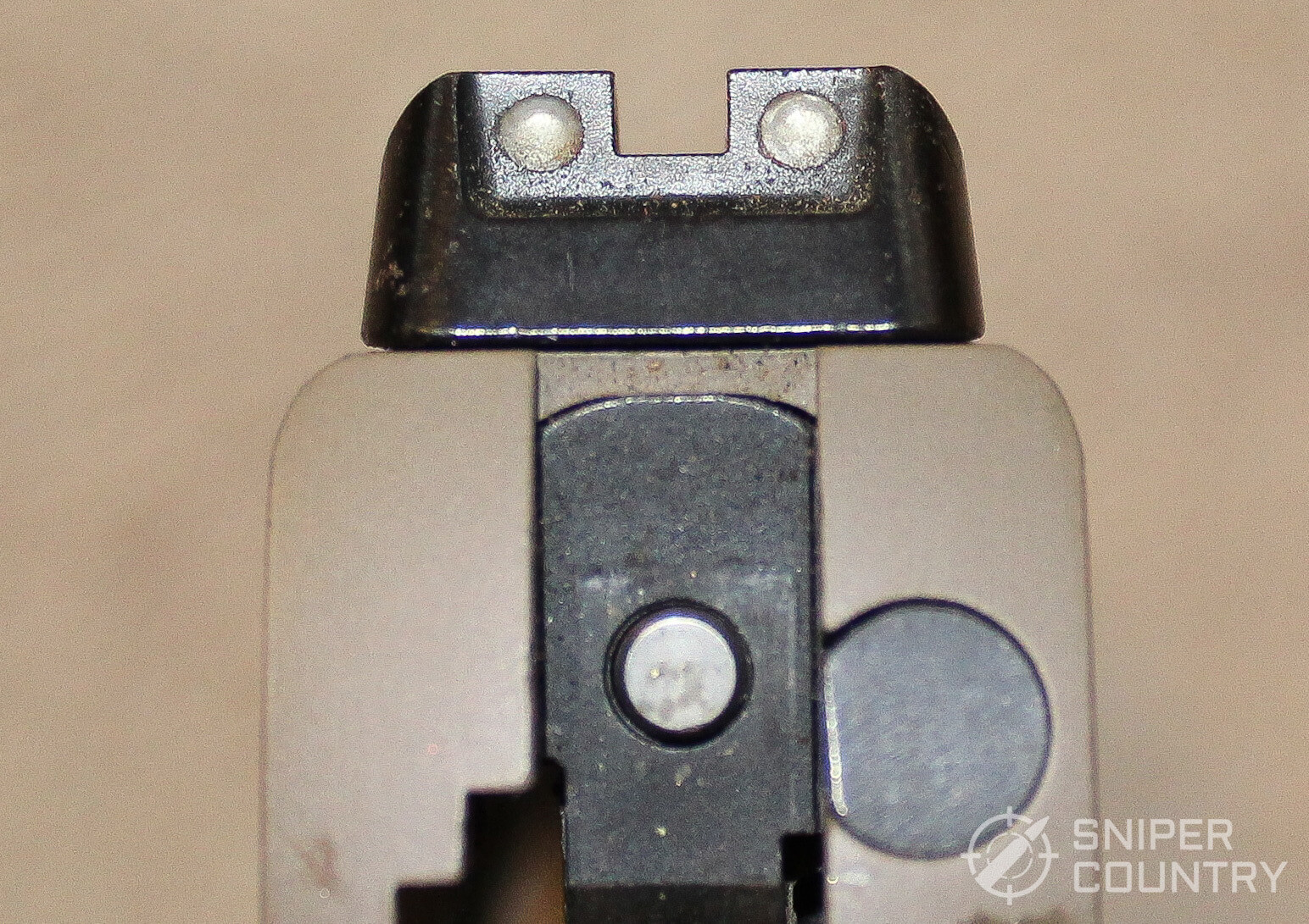 Sig Sauer Scorpion 1911 rear sight