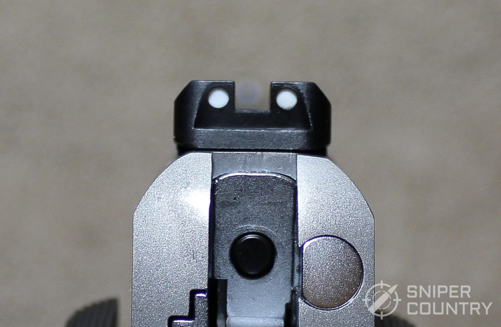 Taurus PT1911 rear sight