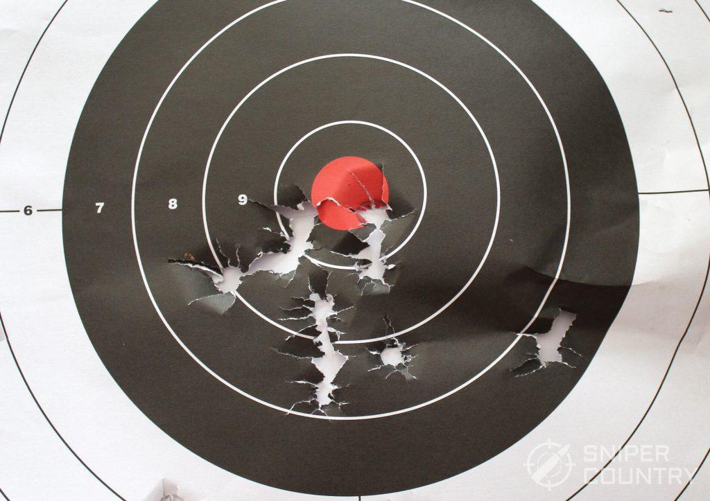 Taurus PT1911 target