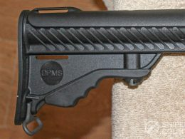 DPMS LR-308 buttstock right