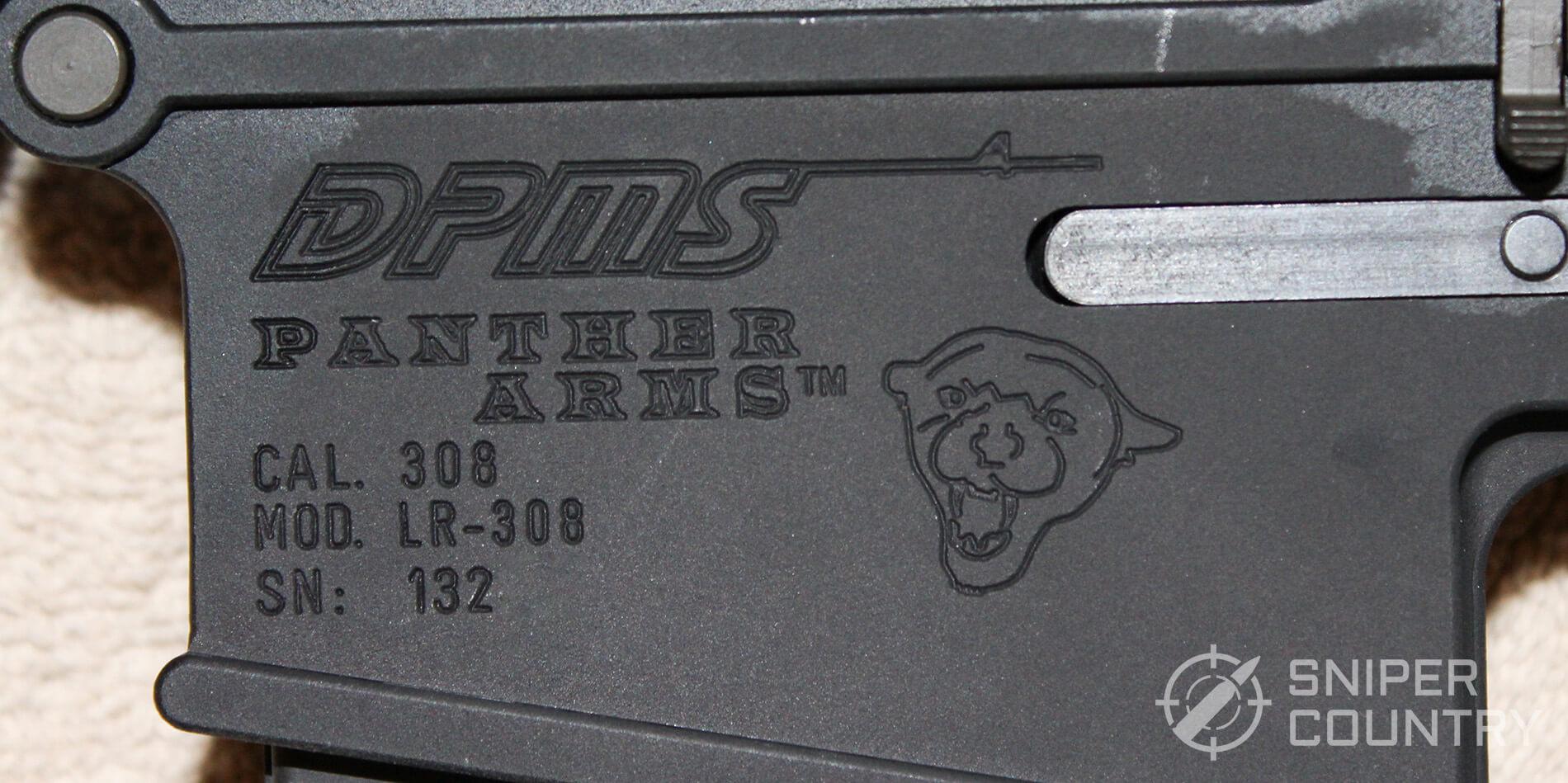 DPMS LR-308 receiver engraving