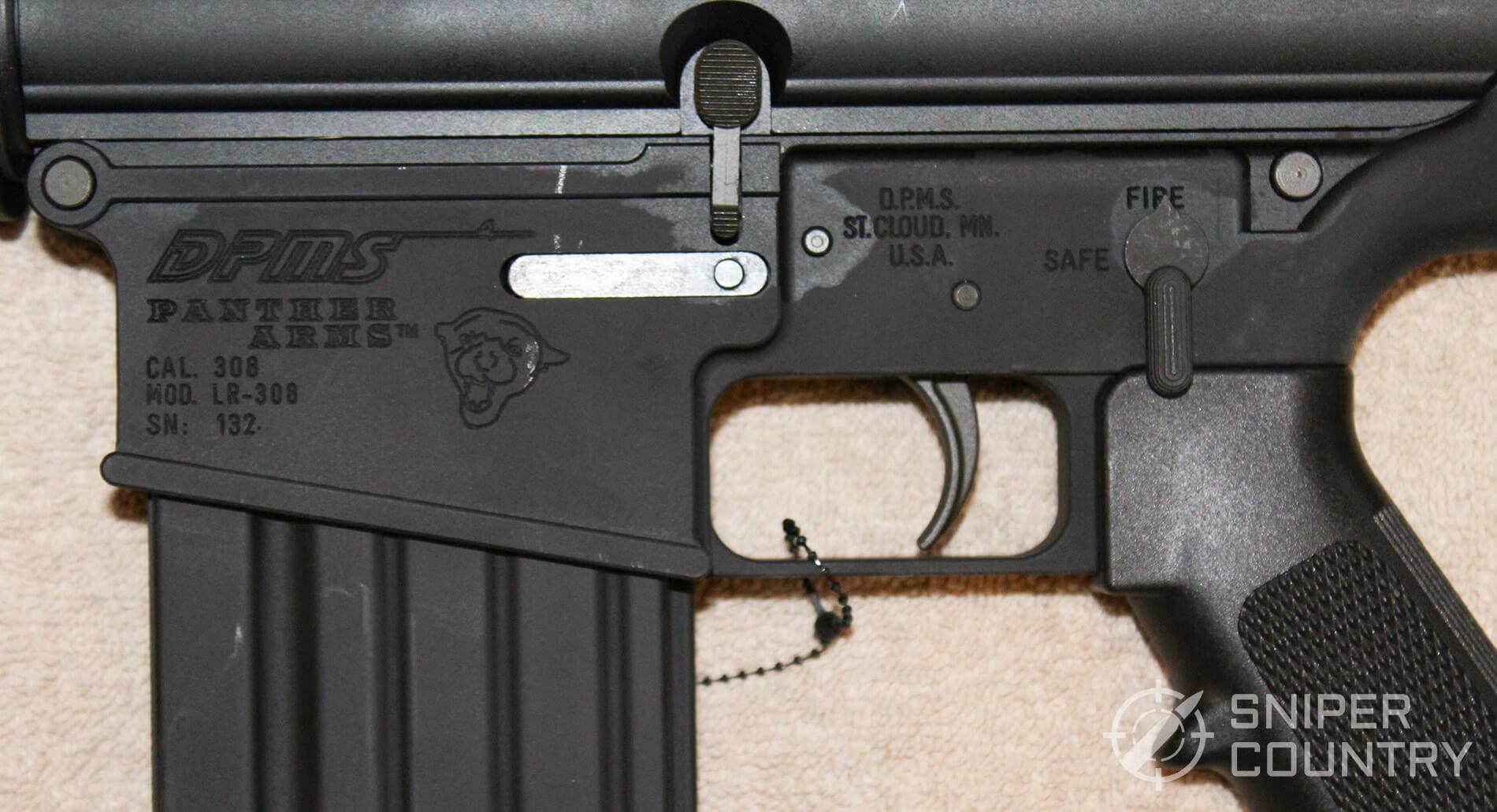 DPMS LR-308 receiver left
