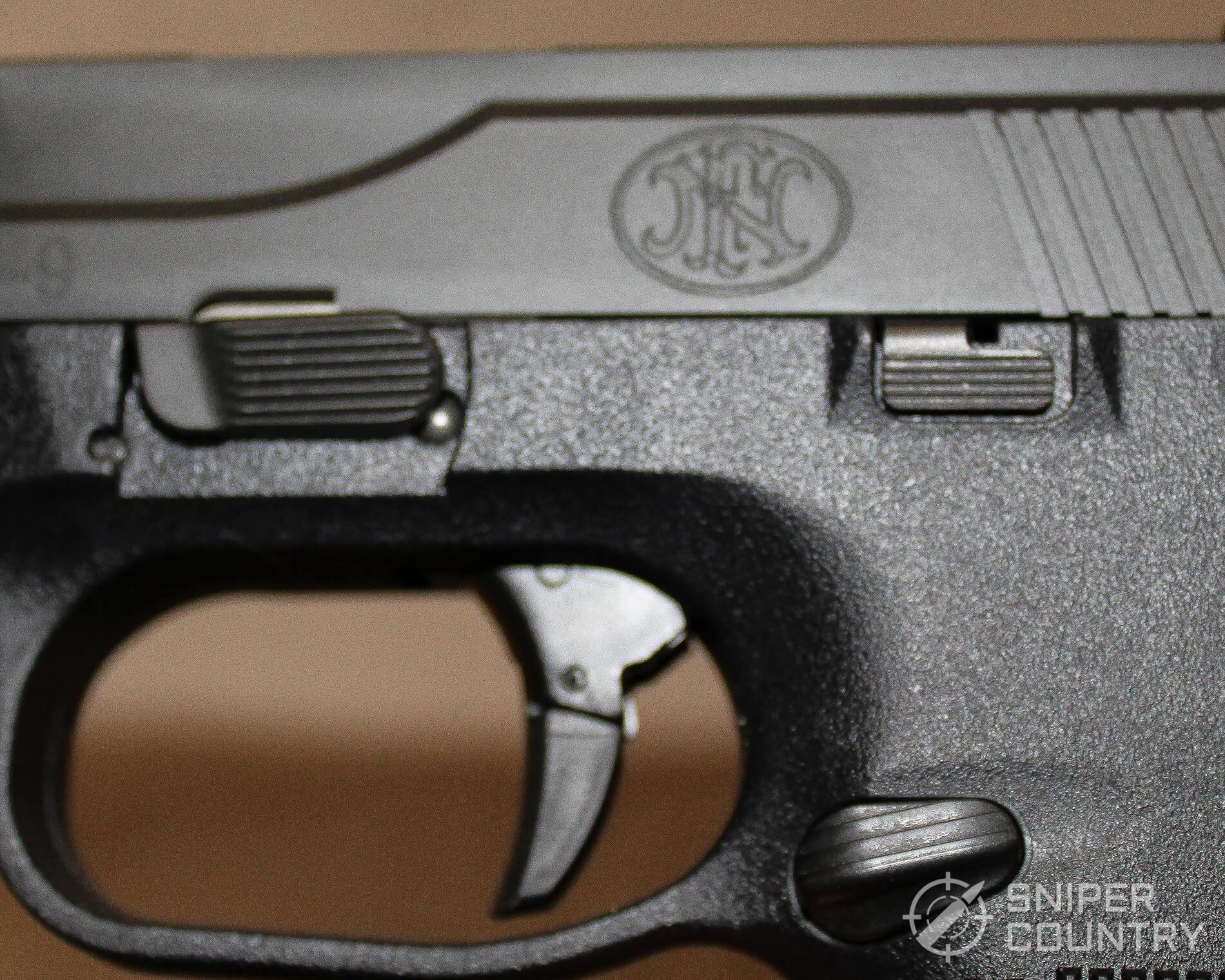 FNS-9 controls left