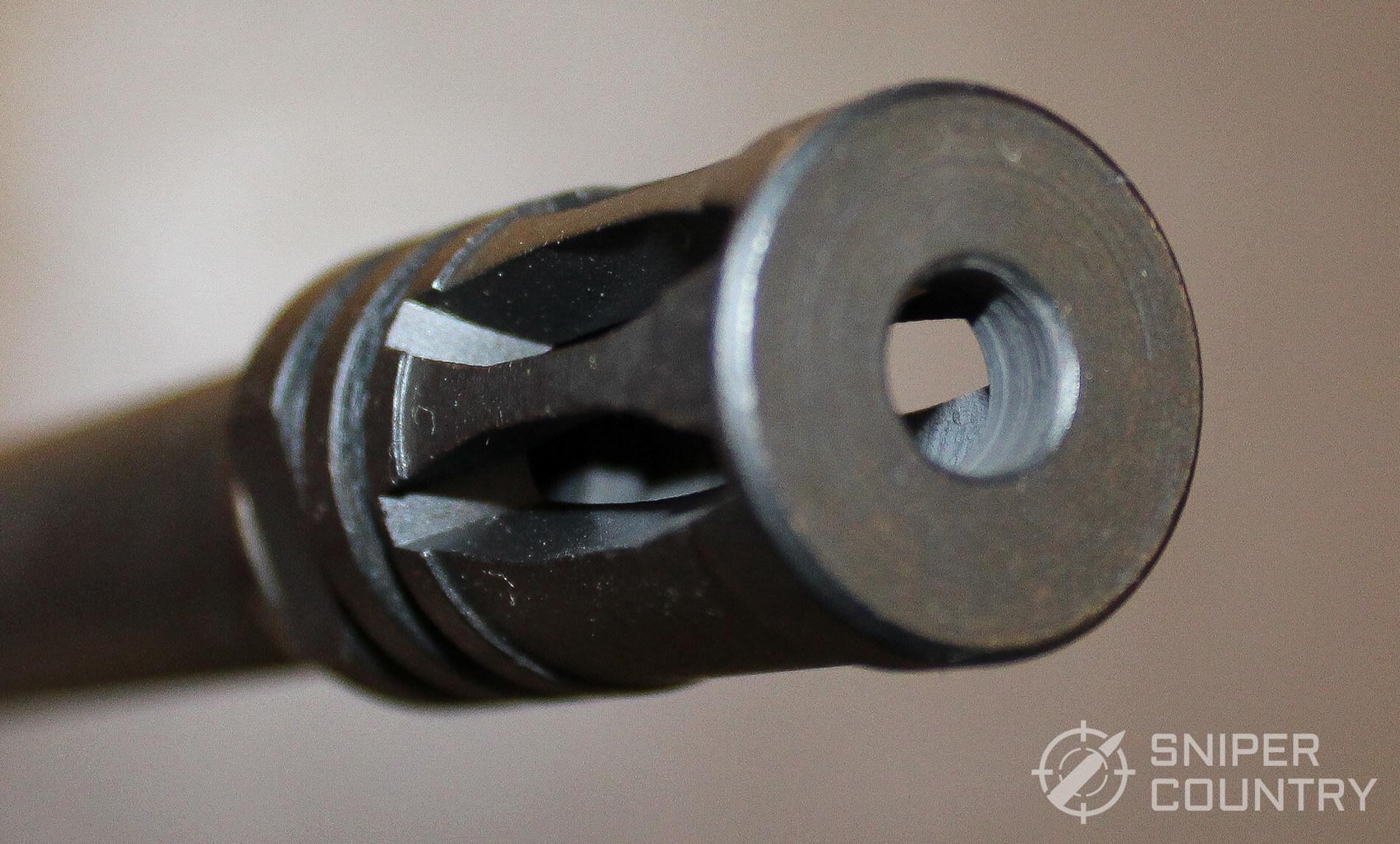 Mossberg 715T muzzle close-up