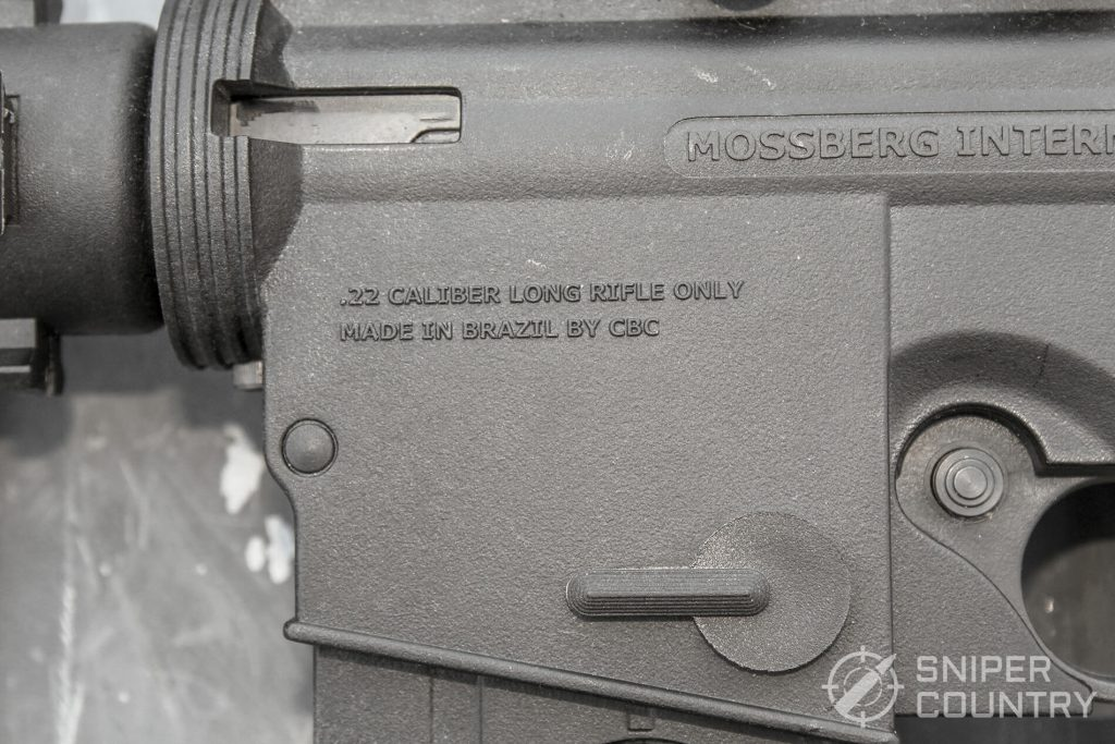Mossberg 715T rollmarking left-forward