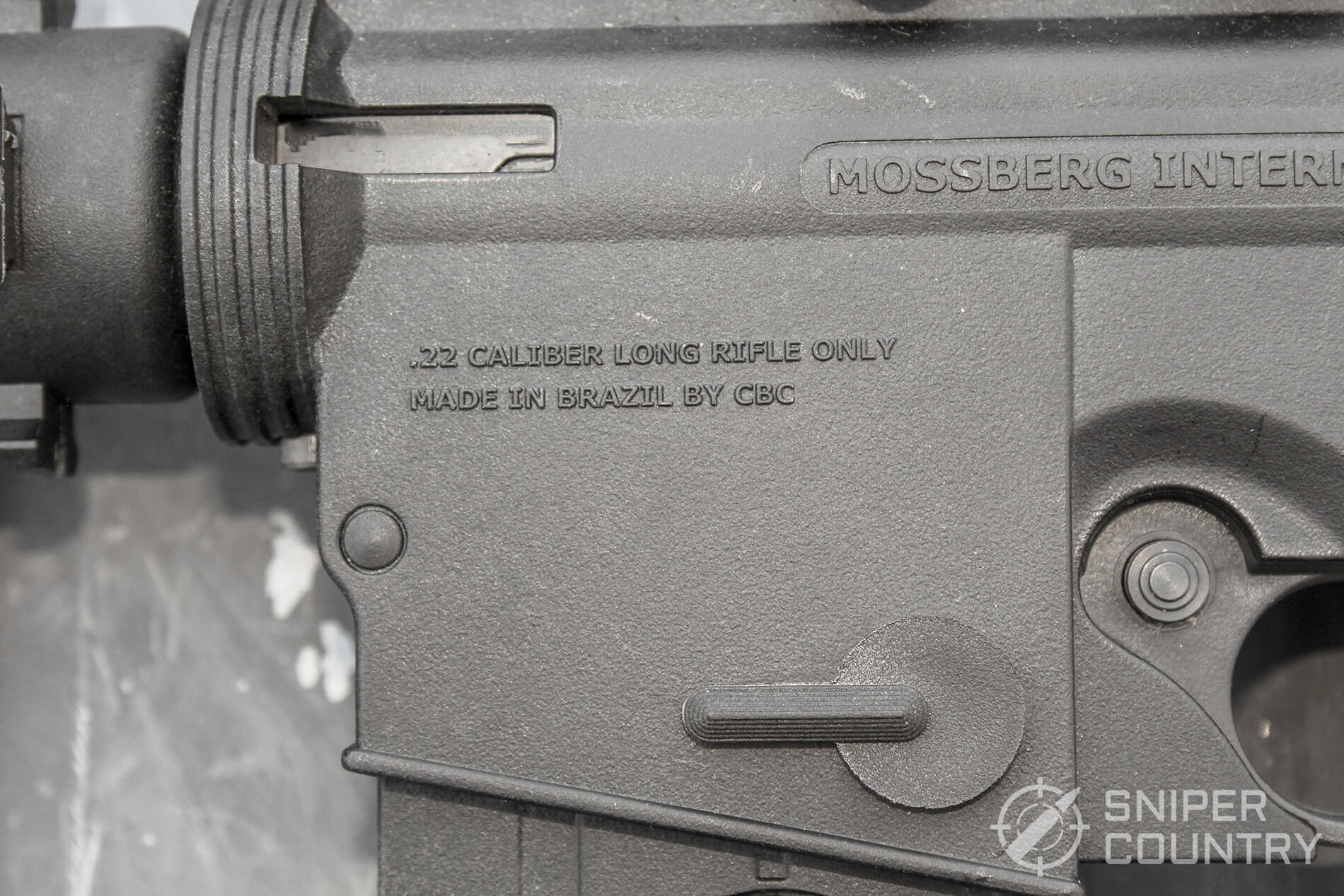 Mossberg 715T rollmarking left-forward