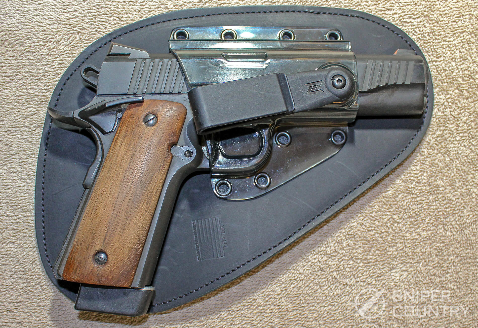 1911 in professional holster