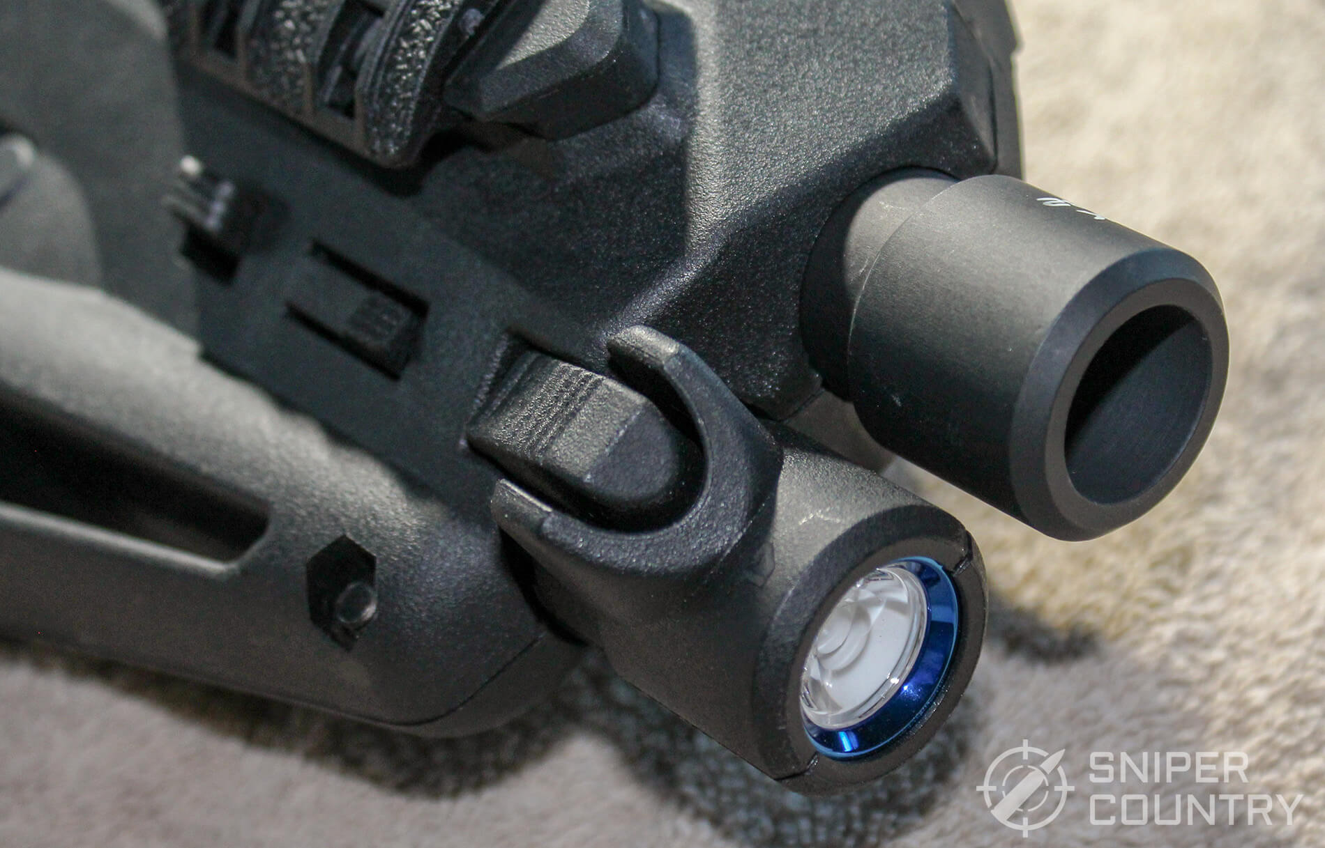 CAA Micro-RONI muzzle light