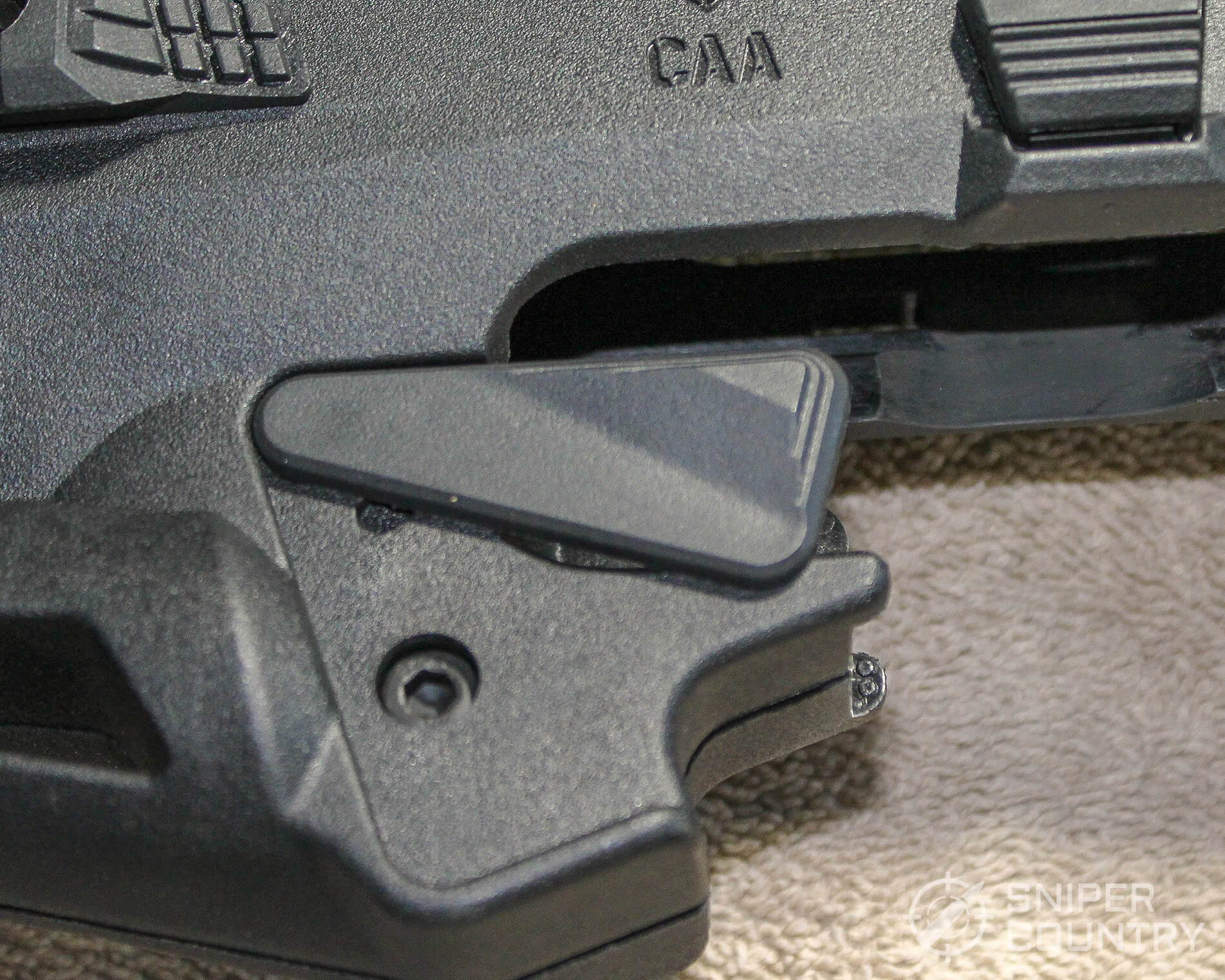 CAA Micro-RONI trigger guard safety