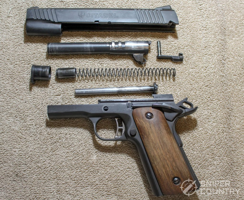 Citadel 1911 field-stripped