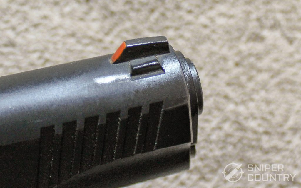Citadel 1911 front sight dovetail