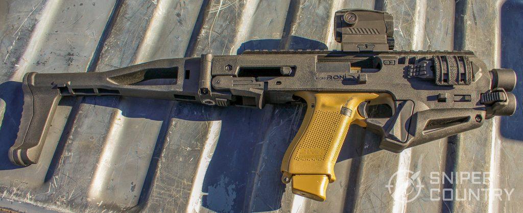 Glock 19X in CAA Micro-RONI