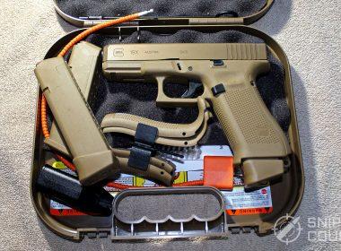 Glock G19X in case