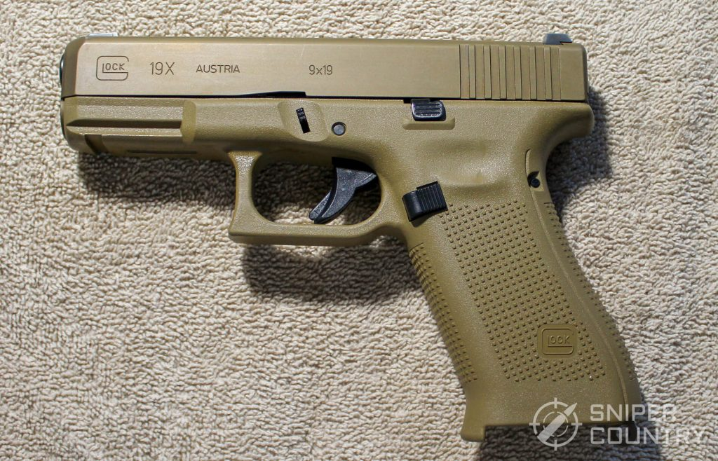 Glock G19X left side