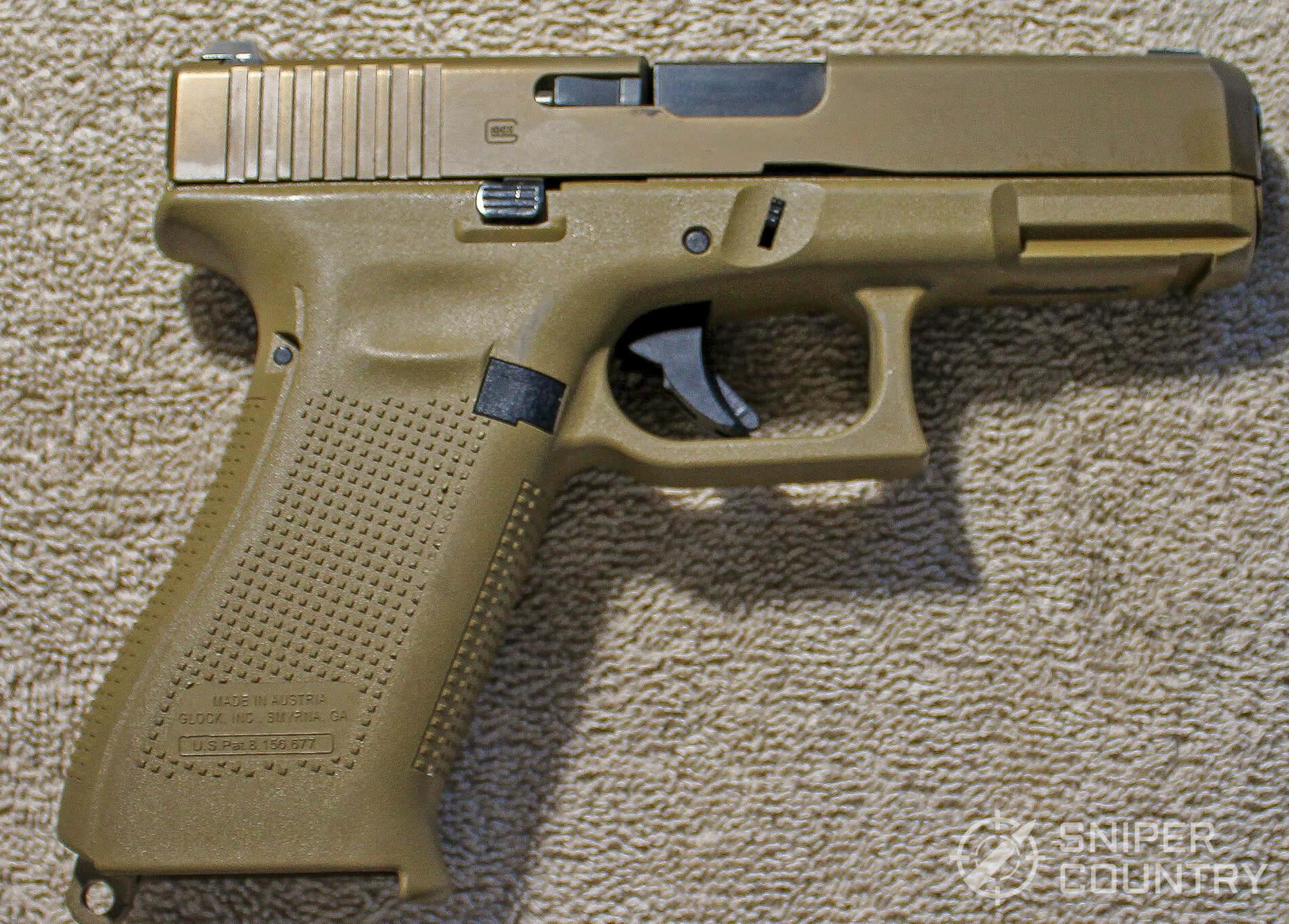 Glock G19X right side