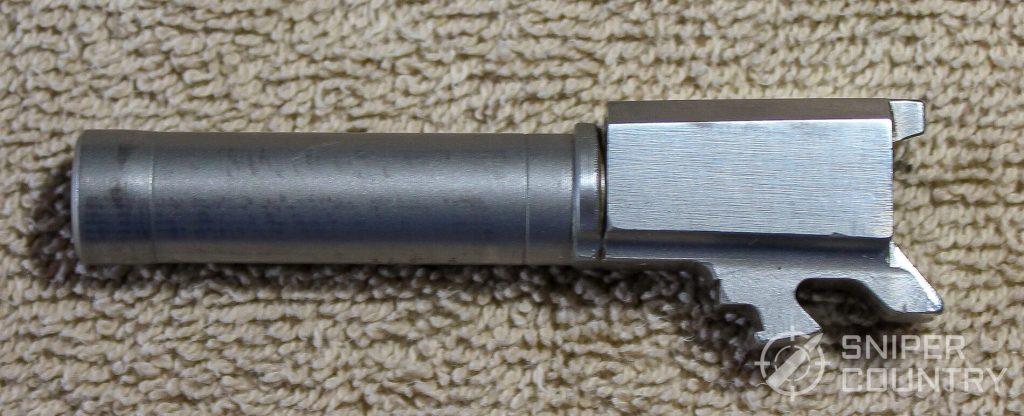Taurus 709 Slim barrel profile