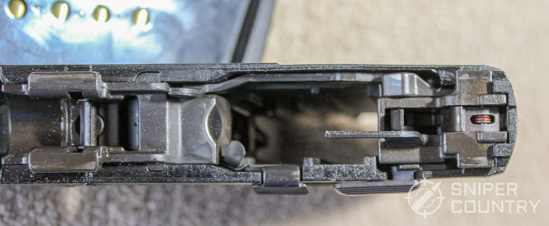 Taurus 709 Slim frame top side