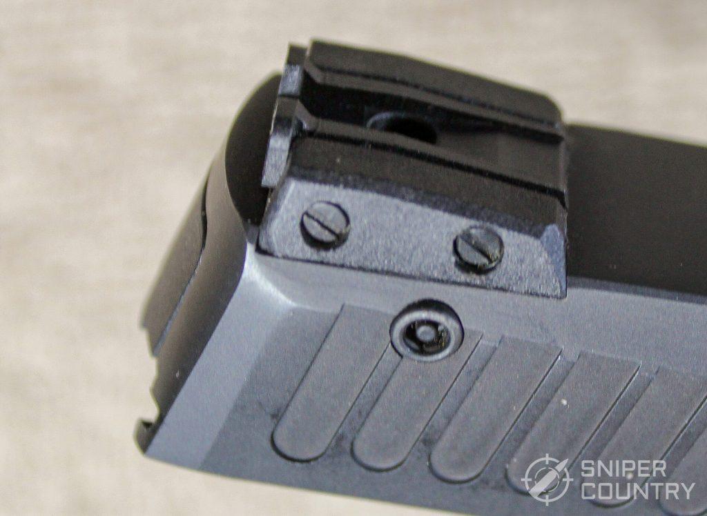 Taurus 709 Slim rear sight adj safety lock