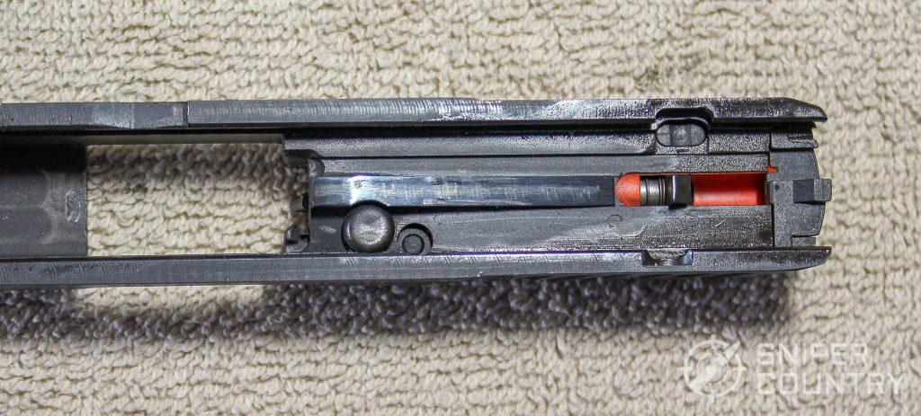 Taurus 709 Slim slide underside