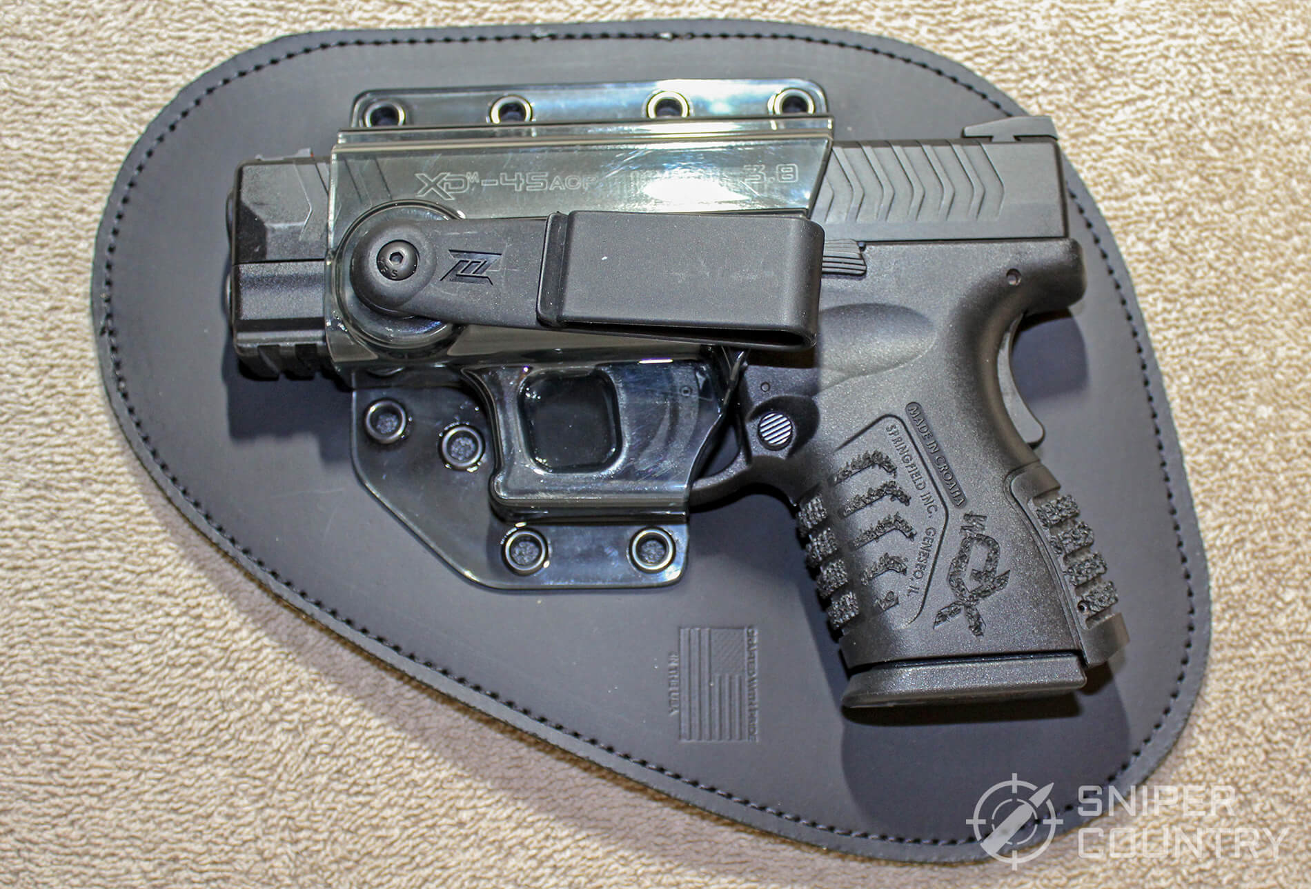 springfield in professional holster