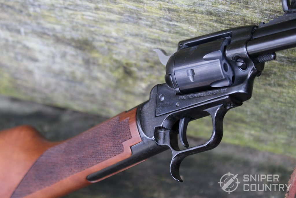 Heritage Rough Rider Carbine action