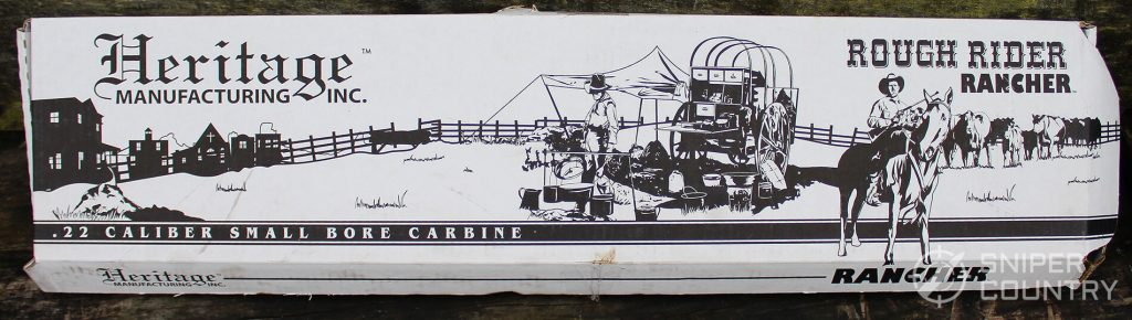 Heritage Rough Rider Carbine box
