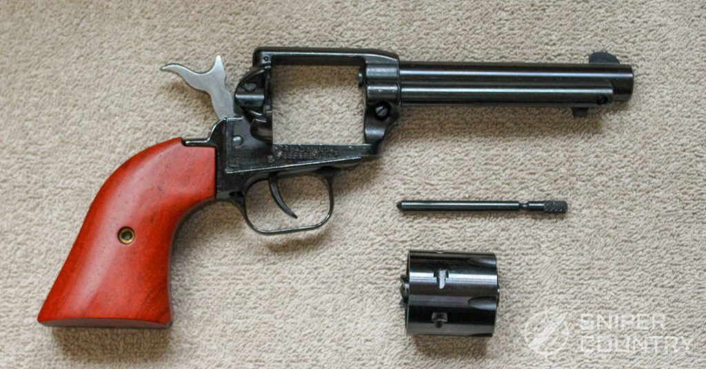 Heritage Rough Rider Revolver field stripped