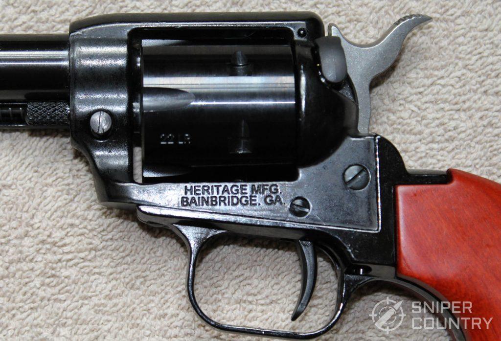 Heritage Rough Rider Revolver frame engraving