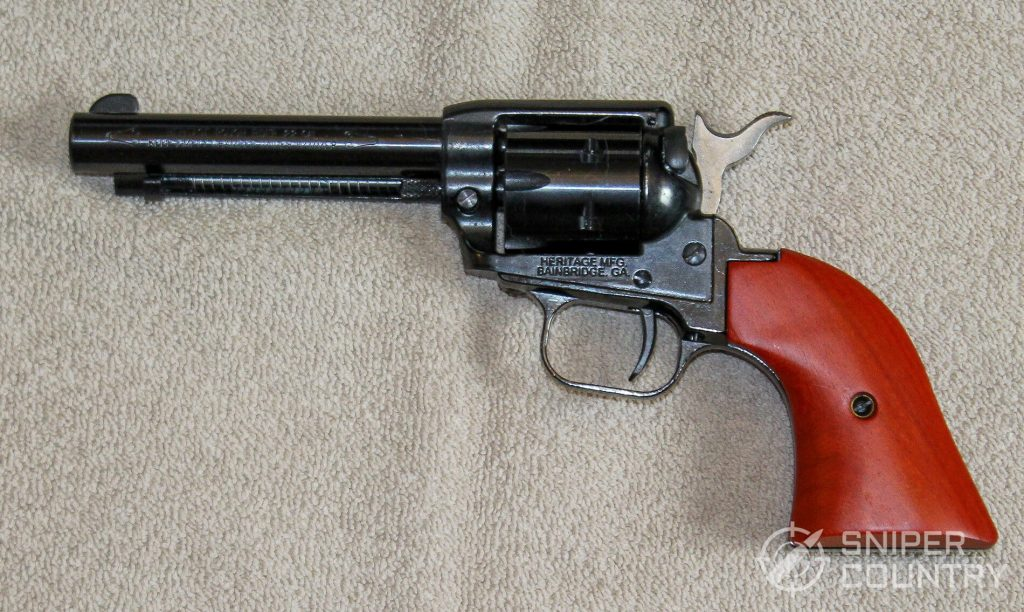 Heritage Rough Rider Revolver left side