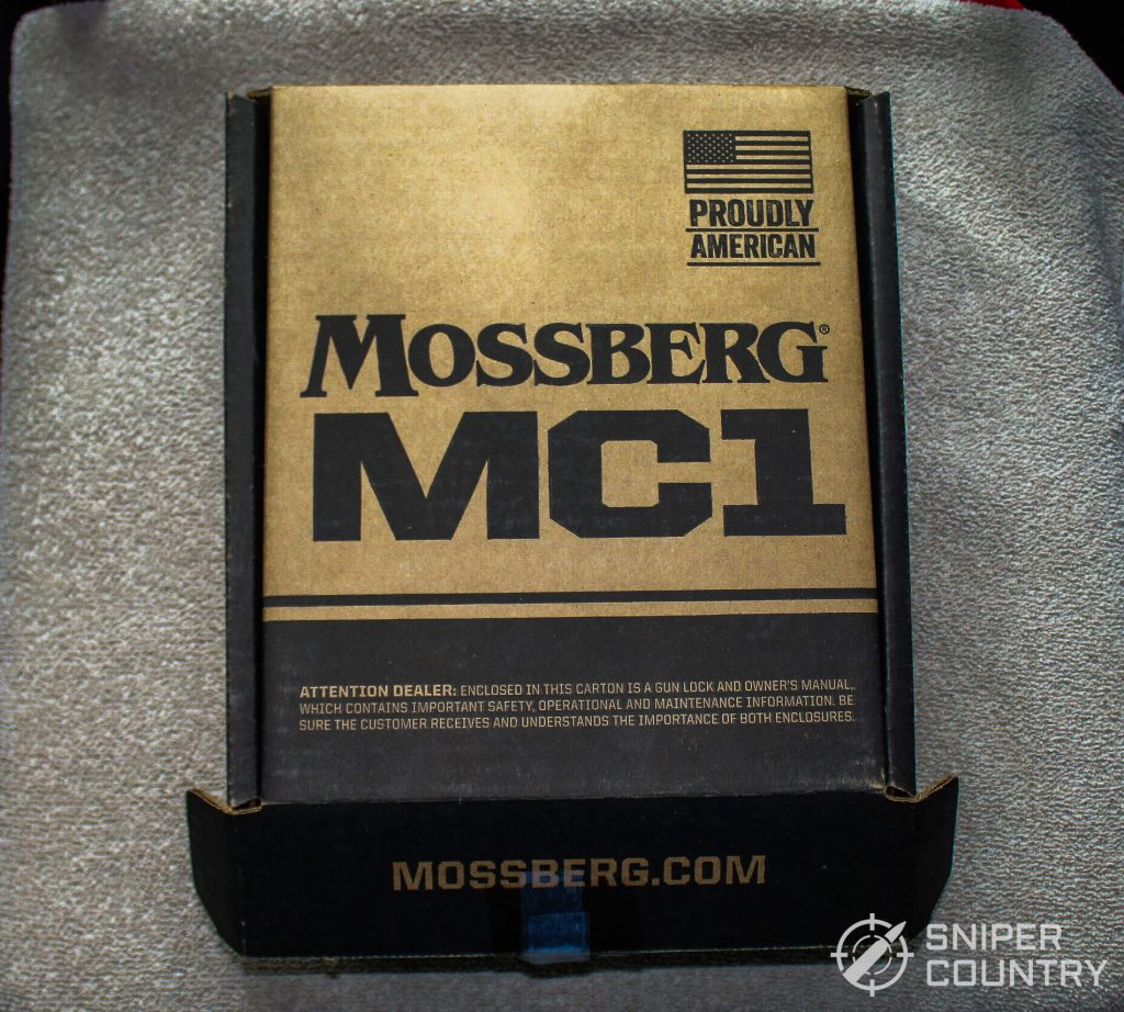 Mossberg MC1sc box