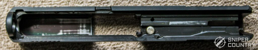 Mossberg MC1sc slide underneath