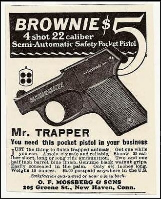 Mossbergbrownie ad