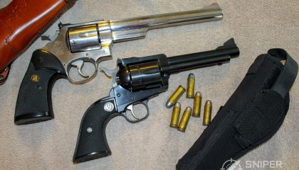 Single Action vs. Double Action Revolvers