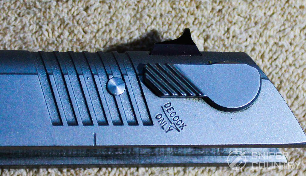 Ruger P97 decocker