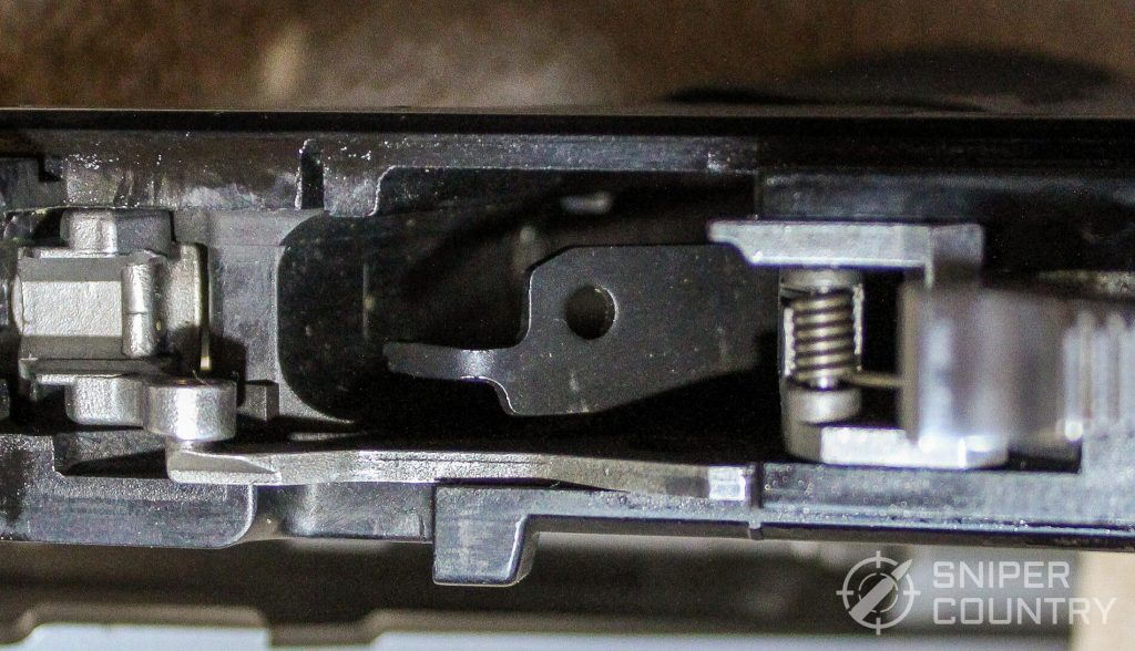 Ruger P97 ejector flipped down