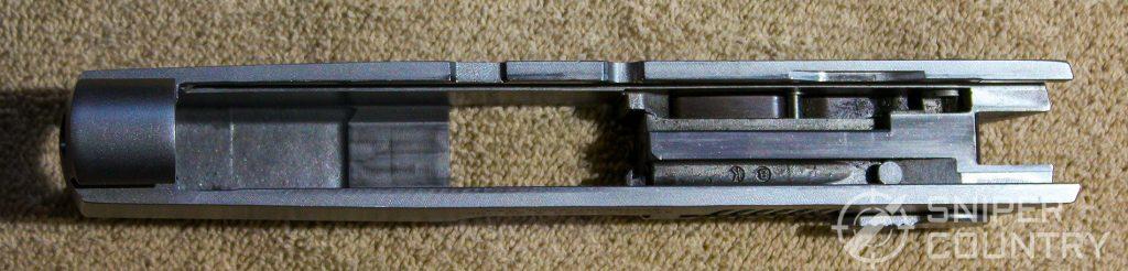Ruger P97 slide underside