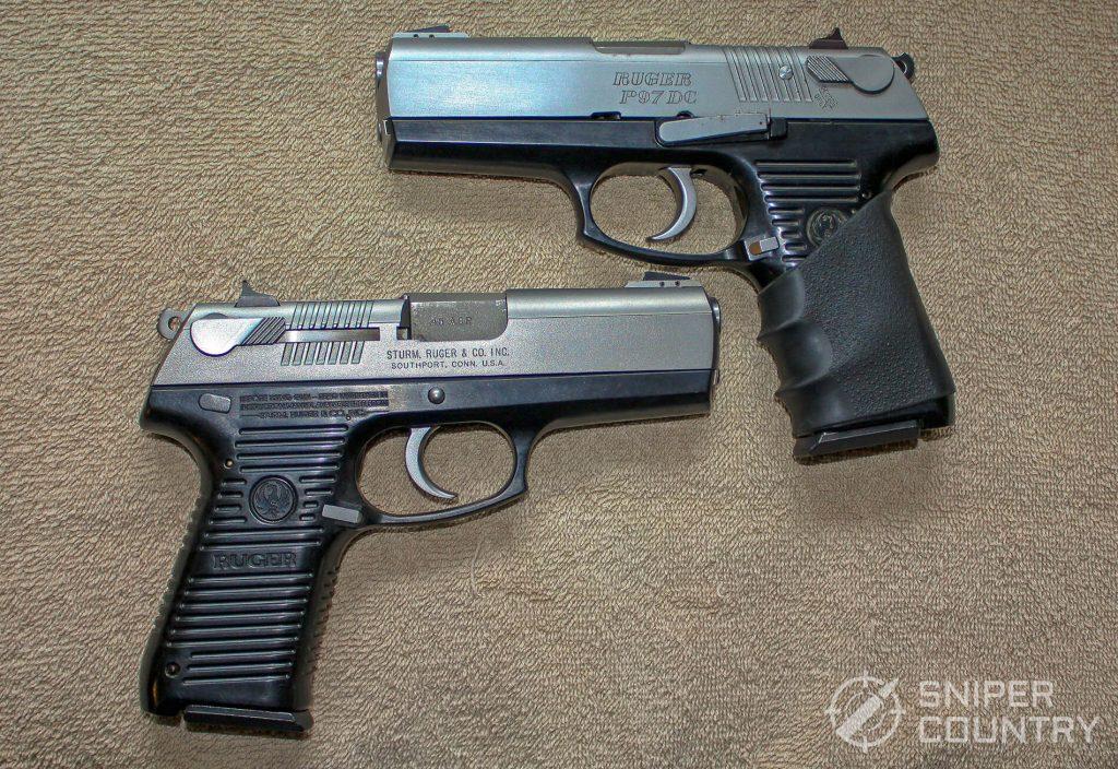 both Ruger P97 guns