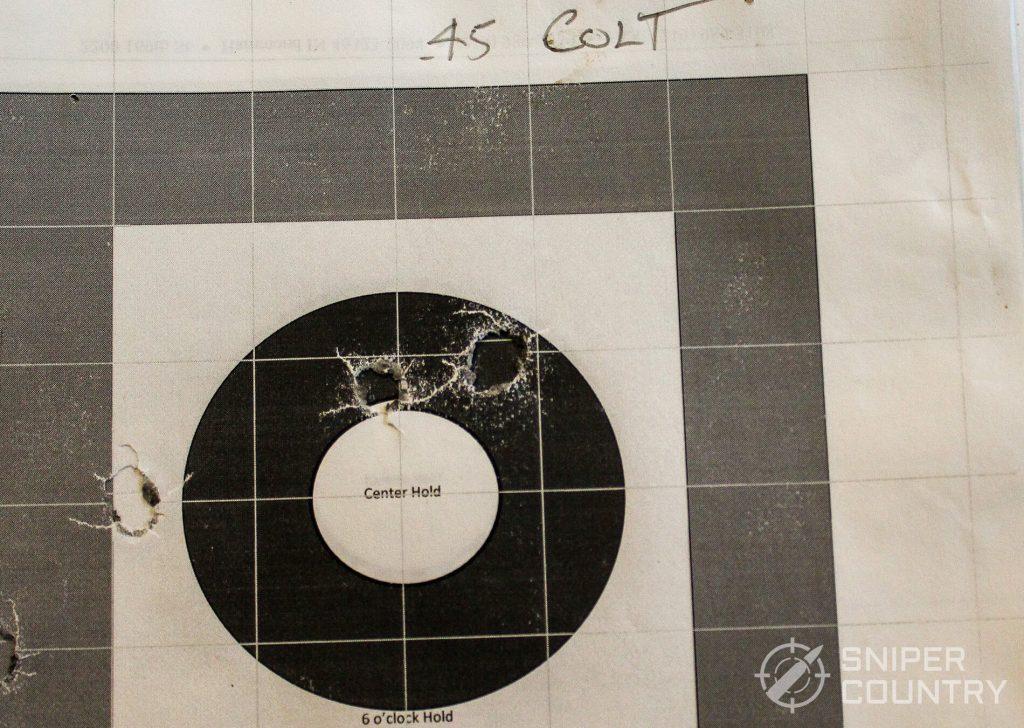 target Ruger Blackhawk .45 Colt