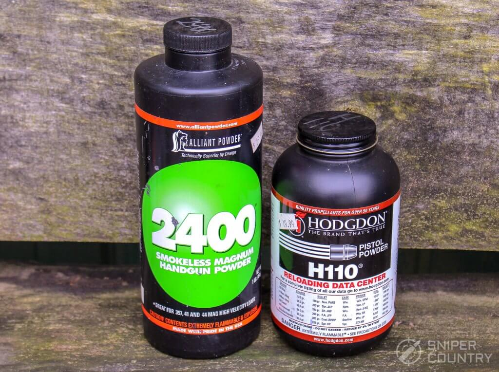 2400 and H110 powder